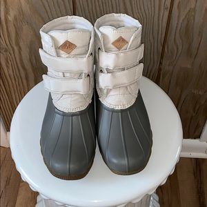 🦆Sperry Saltwater Jetty Duck Boots🦆
